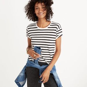 Madewell Whisper Cotton Stripe Tee